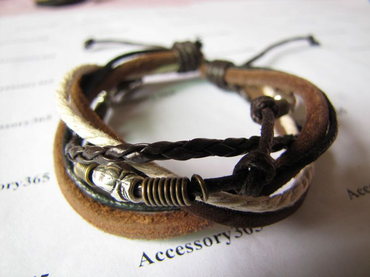 Jewelry Bangle Leather Bracelet