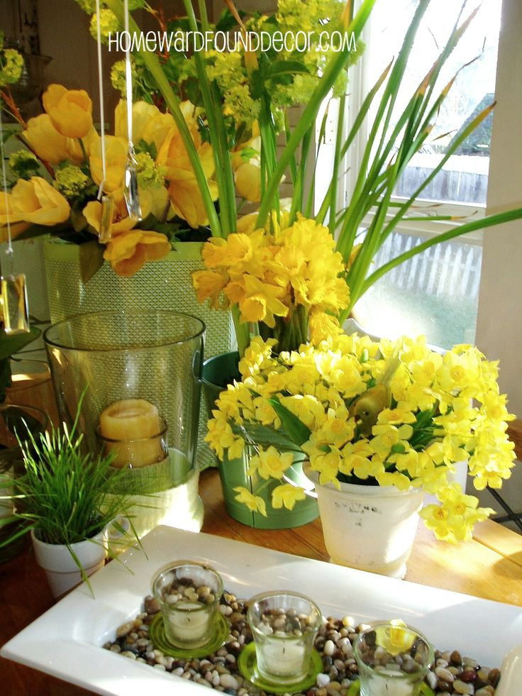 330 best march decor fresh as spring images on pinterest - Home decor ideas images ...