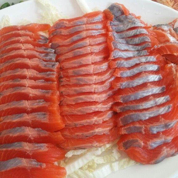 Trout sashimi, Muzu
