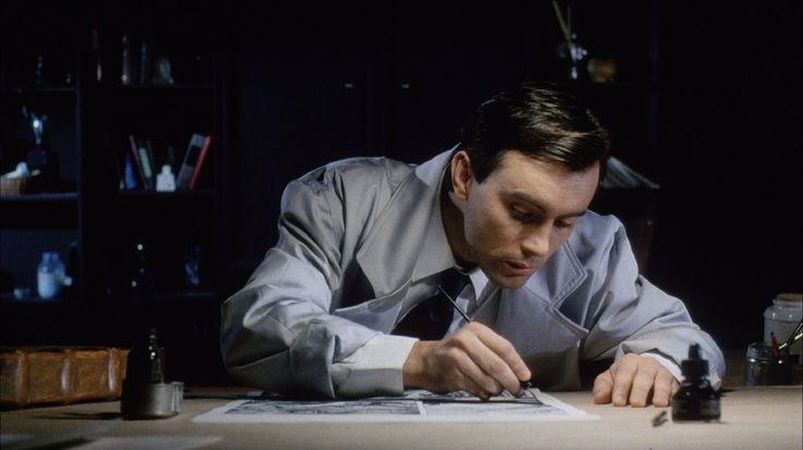 Jeffrey Combs in Cellar Dweller (1988)