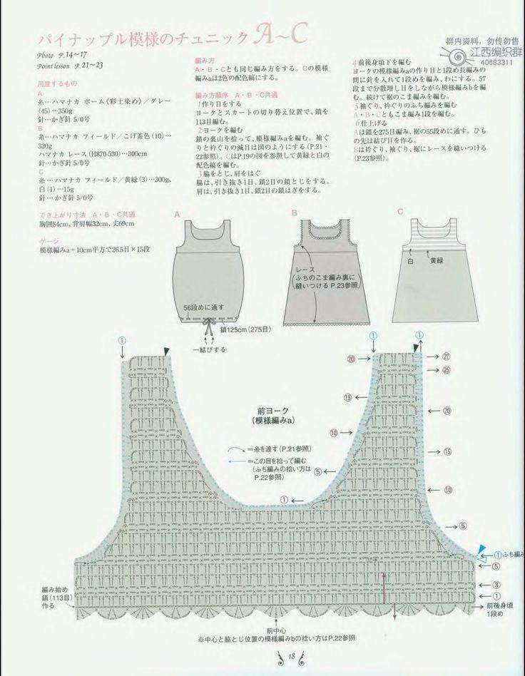 Bonito Cómo Leer Los Patrones De Crochet Japonés Modelo - Manta de ...