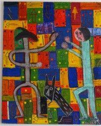 art contemporain, art moderne, art abstrait,