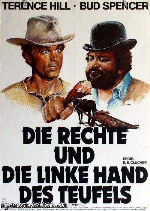 Plakat - Die rechte und die linke Hand des Teufels - Bud Spencer / Terence Hill - Datenbank