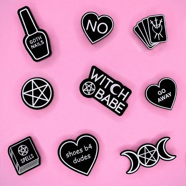 Witch Worldwide pins