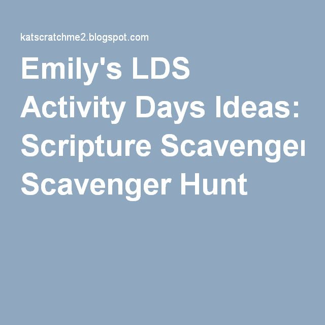 What are some crazy scavenger hunt ideas?