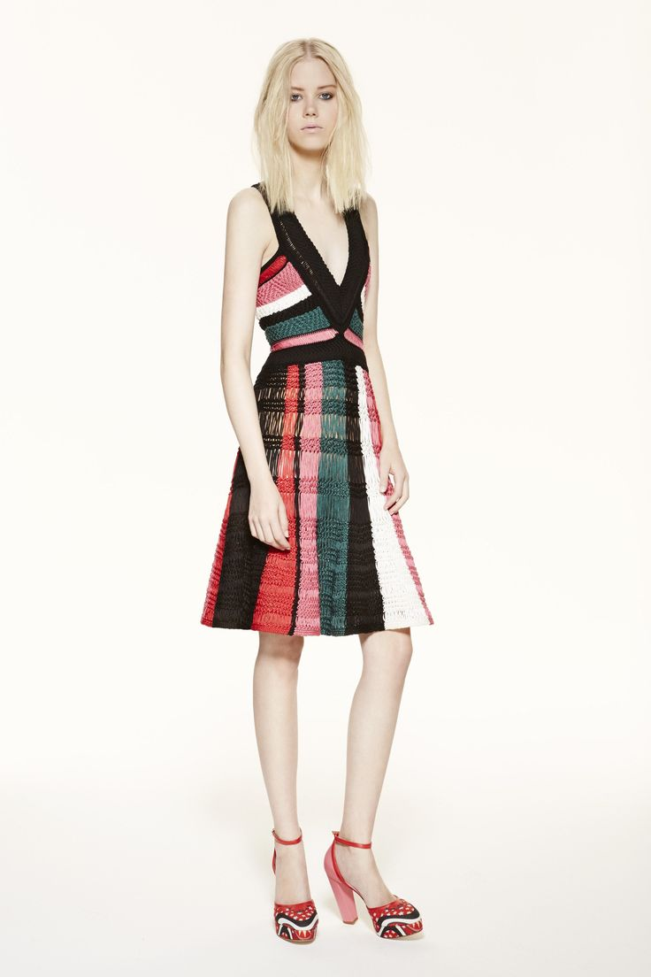 M missoni red dress youth