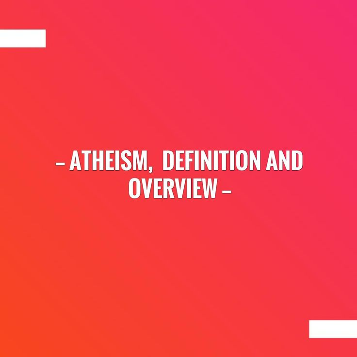 In case you missed it, here you go 🙌 Atheism,  Definition And Overview http://jiddanand.blogspot.com/2016/01/atheism-definition-and-overview.html?utm_campaign=crowdfire&utm_content=crowdfire&utm_medium=social&utm_source=pinterest