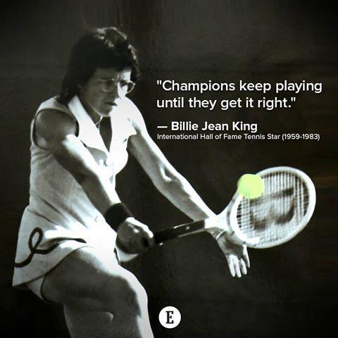 Champions keep playing!