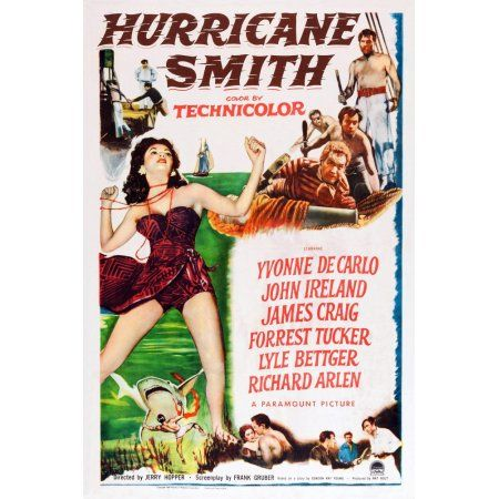Hurricane Smith U Canvas Art - (11 x 17)