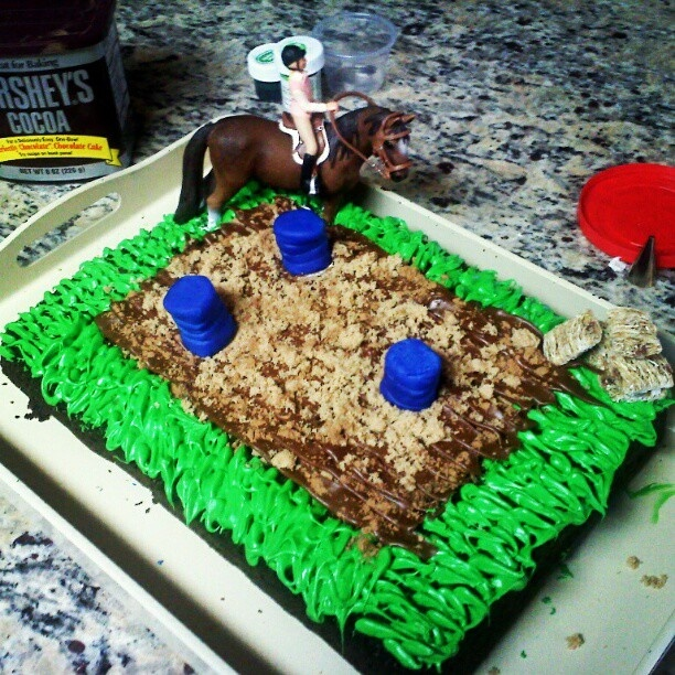 14 Best Cakes - Barrel Racing Images On Pinterest