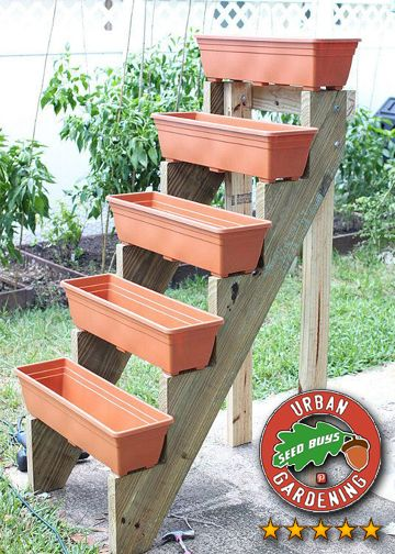 Best Wooden Stair Stringers With Plastic Planters Plastic 400 x 300