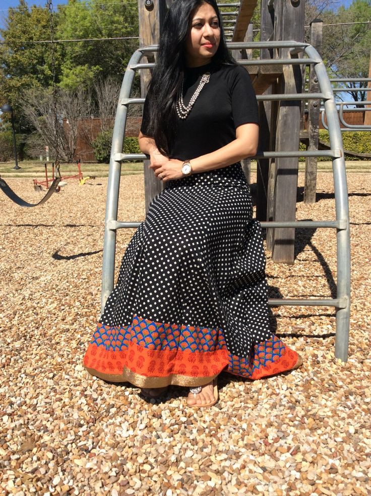 Long A Line  Maxi skirt with Indian Prints by NarikaIndianDesigns on Etsy https://www.etsy.com/listing/271165578/long-a-line-maxi-skirt-with-indian