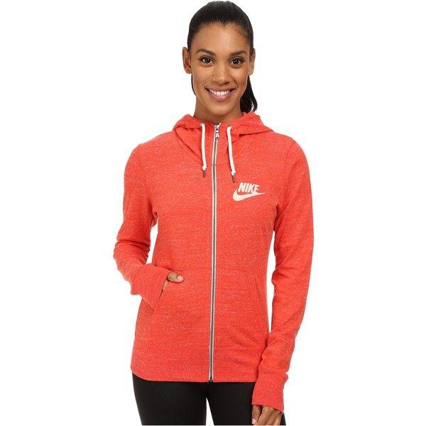 official photos 81d2e 7761d nike tech hoodie womens orange