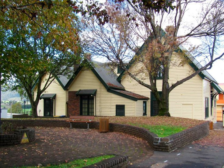 Heritage Listed Old Post Office building in Scottsdale (Dorset) North East Tasmania