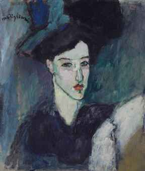Amedeo Modigliani (1884-1920)   | La Juive   | IMPRESSIONIST & MODERN ART Auction | 20th Century, Paintings | Christie's