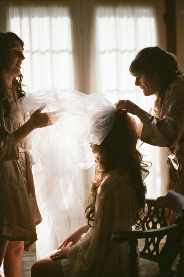 Love getting ready photos! From Pam Cooley