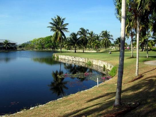 Burapha Golf Course in Pattaya, Thailand