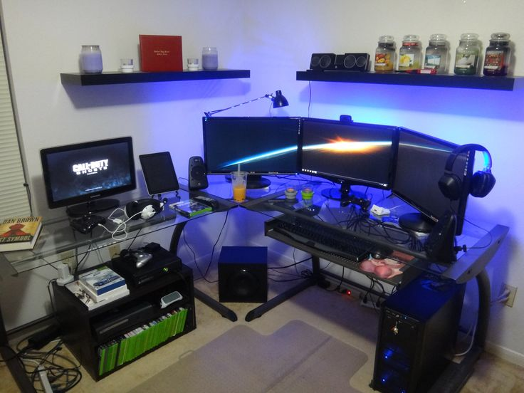 Found the best home ideas especially the article about Computer Gaming Setup for informational and inspiration to your home only in home ideas gallery. Description from withgood.co. I searched for this on bing.com/images