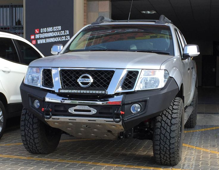 rhino 4 4 nissan navara front evolution bumper til. Black Bedroom Furniture Sets. Home Design Ideas