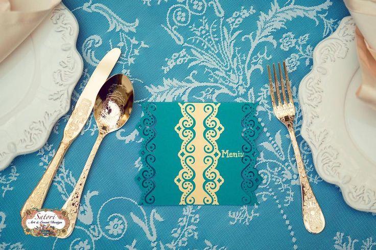 Precious Turquoise Wedding Decor Collection