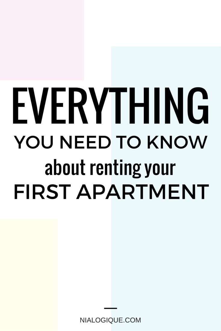 Everything You Need To Know About Renting Your First Apartment | This article expands on payments, utilities, properly reading the lease, extra fees, the rental process, your neighbours, a minimalist apartment checklist, address changes to make, an apartment rental dictionary, and so much more! Literally, EVERYTHING you need to know about making a smooth transition into your new home. Great info for teenagers moving away for college, newcomers, and every one in between.
