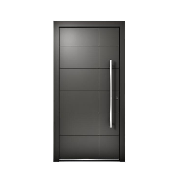 aluminium entrance door at 410 model p253 photo credit internorm doors pinterest. Black Bedroom Furniture Sets. Home Design Ideas