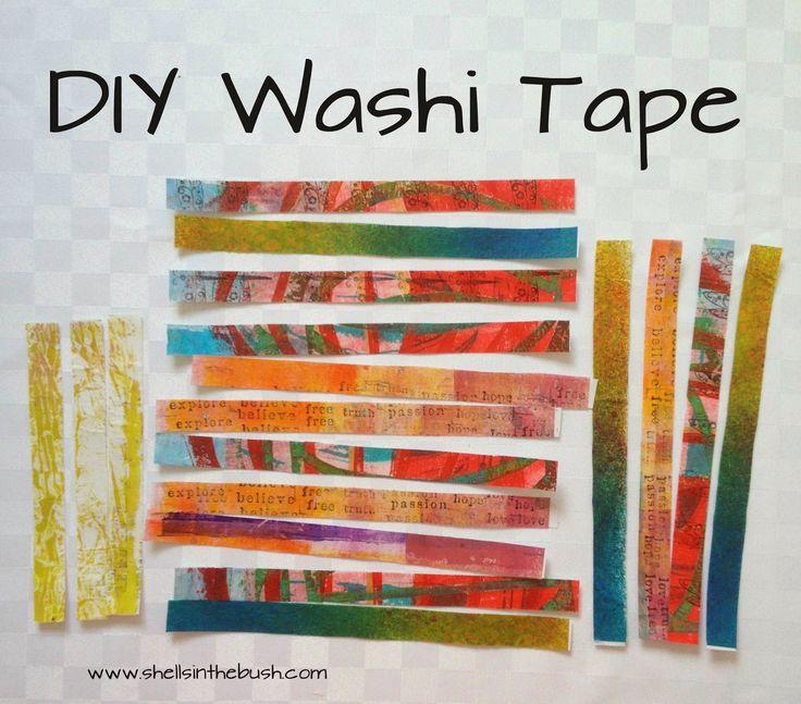 Michelle Reynolds' DIY Washi Tape - Little Books Part 2 - Cre8ive Klatch