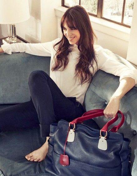 Charlotte Gainsbourg égérie du nouveau sac Tommy Hilfiger - Elle