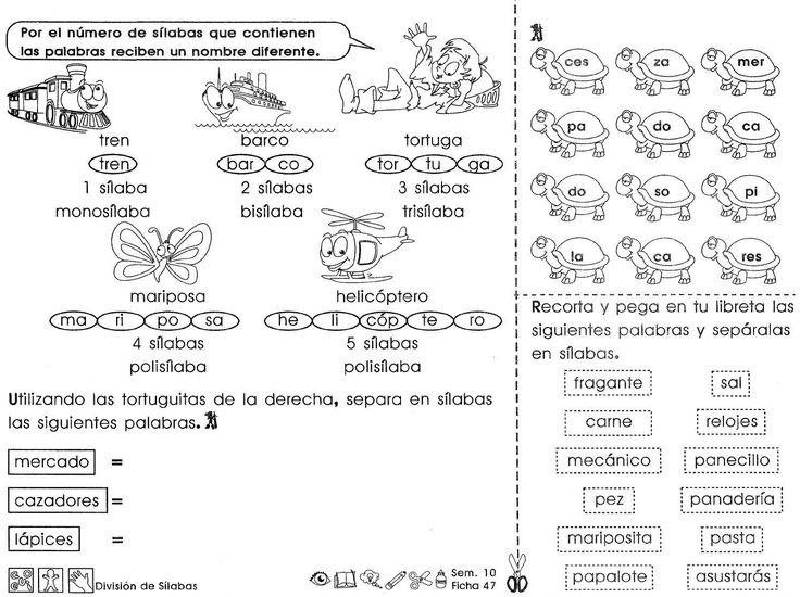 División silabica