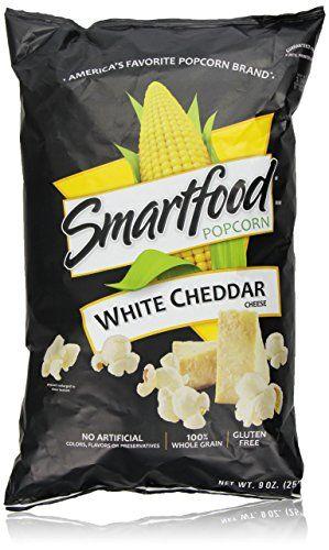 Smartfood Popcorn, White Cheddar, 9 Ounce Smartfood