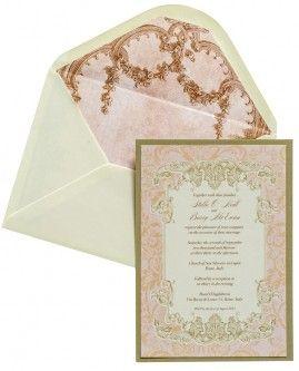 Romance In Venice Wedding Invite