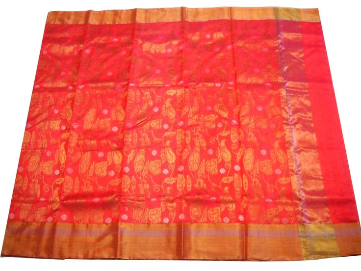 This handwoven saree is made of Pure Pattu silk. Length is approx. 6.25 meter, and width is approx 45 inches. At the time of listing this product, this item is available. In case this item is sold out from our physical store, the full refund will be initiated back to you within 24 hours of making th