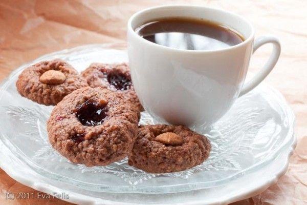almond thumbprint cookies | Cupcakes & Cookies! | Pinterest