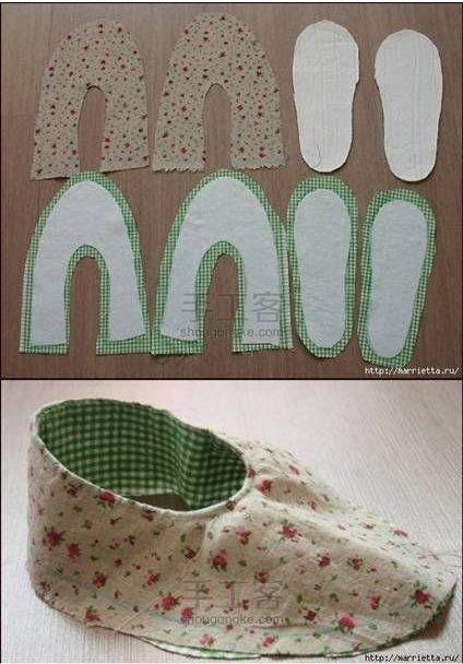 ARTESANATO COM QUIANE - Paps,Moldes,E.V.A,Feltro,Costuras,Fofuchas 3D: Molde e explicação do sapato de tecido