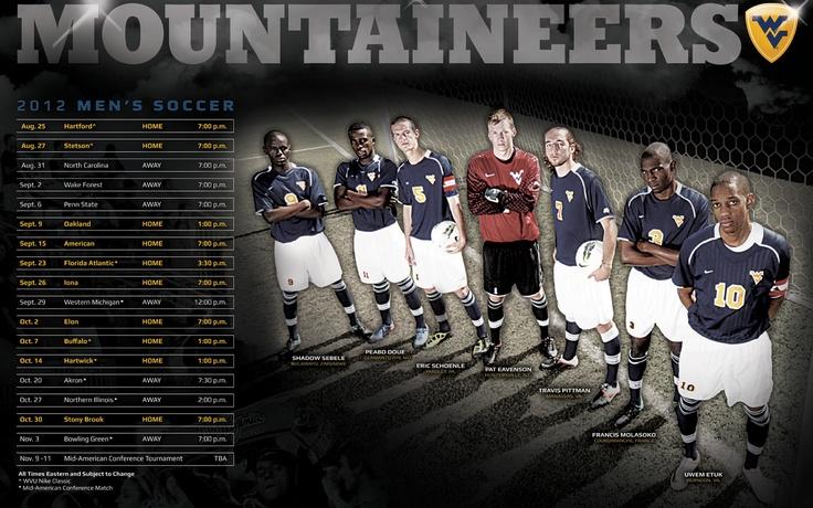 2012 WVU Men's Soccer