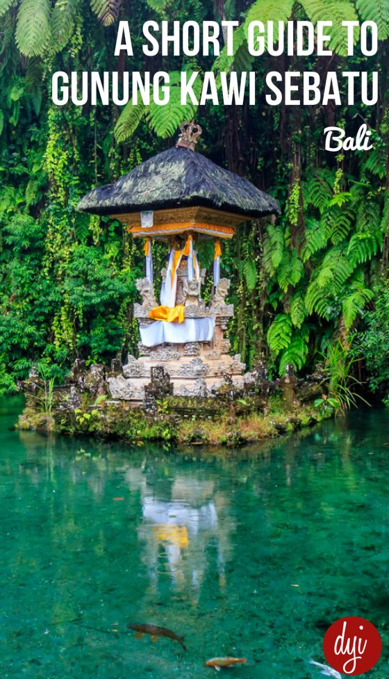 Gunung Kawi Sebatu is a Hindu Water Temple located 30 minutes outside of Ubud, Bali. Find out more about the temple in this short guide.