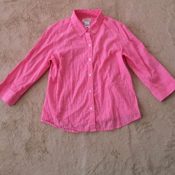 Talbots petites women's shirt Excellent condition Talbots Tops Button Down Shirts