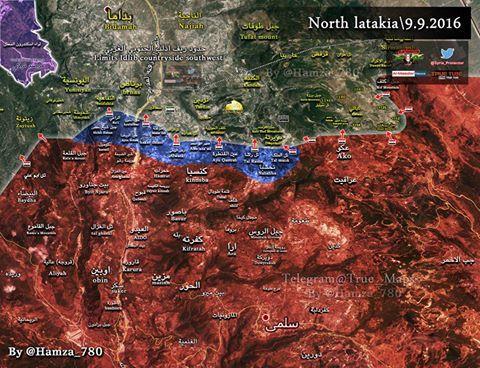 Σε μεγάλη επιχείρηση ο στρατός απελευθέρωσε πολλά χωριά και θέσεις στη Β…