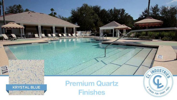 Quartz Pool Finish Krystalkrete | Krystal Blue