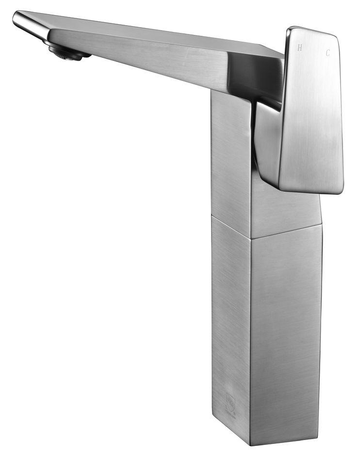 ALFI brand Bathroom Faucets on Pinterest Waterfall bathroom faucet ...