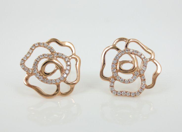 Amato Oltre 25 fantastiche idee su Orecchini di oro rosa su Pinterest  CF85
