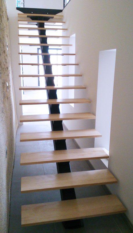 Escalier Metal Garde Corps Mezzanine Interieur Maison