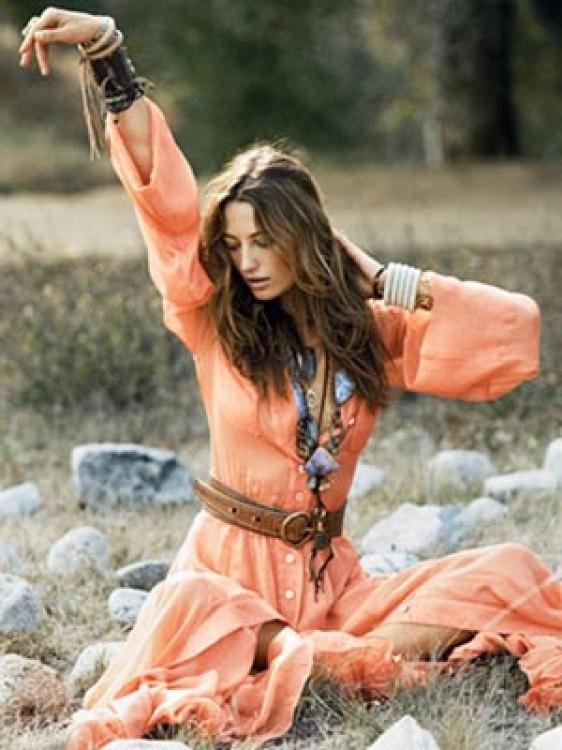 Hippie Fashion - California Style - Marie Claire