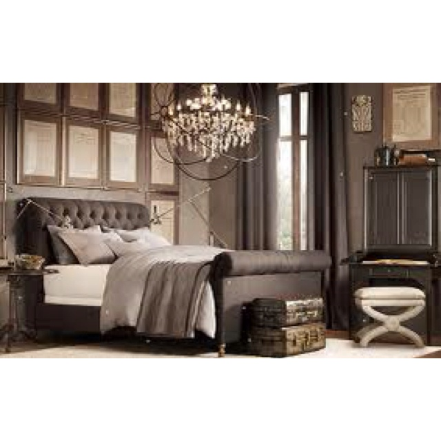 Restoration hardware bedroom inspiration recamaras - Restoration hardware bedroom furniture ...