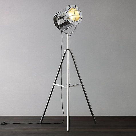 Buy John Lewis Studio Chrome Floor Light Online at johnlewis.com