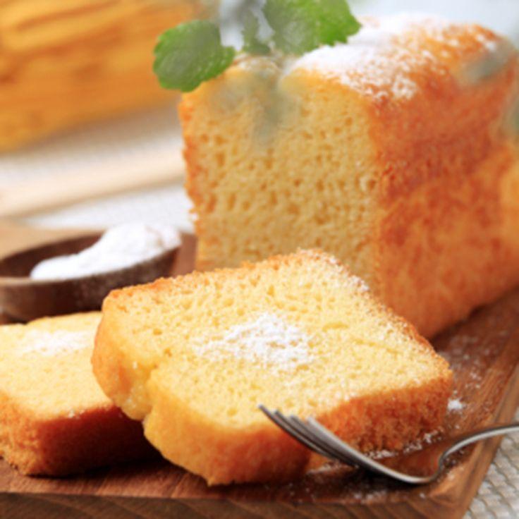 Bread Machine Lemon Pound Cake