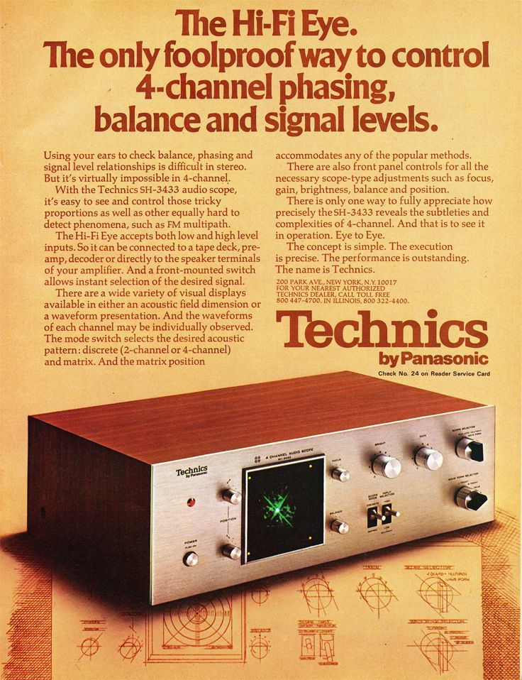 picture of 1973 Technics
