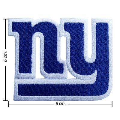 New York Giants Logo 1 Embroidered Iron on Patches by noieasyshop