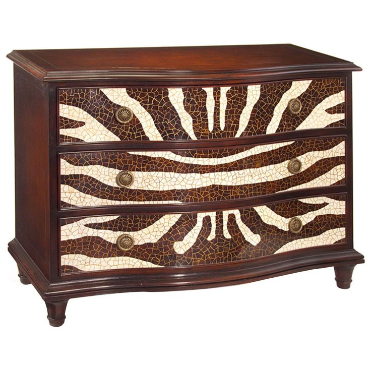 John Richard Zebroid Serpentine Chest