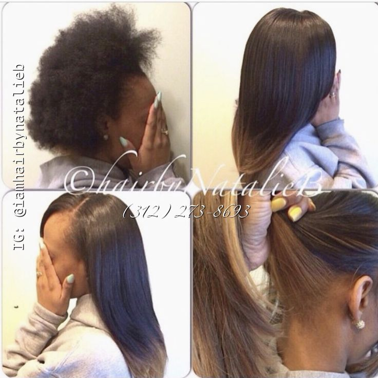 How to Make a Sew In Look Natural - YouTube